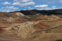 Last week I went to see the Painted Hills of Central Oregon