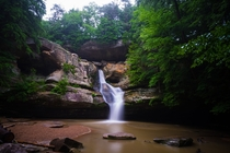 Last weekend at Cedar Falls Hocking Hills Ohio