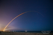 Last weeks Delta IV launch Taken in Cocoa Beach FL