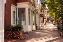 Late Afternoon on Main Street Nantucket
