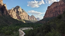 Late afternoon sun-play in Zion National Park  by mylastpost