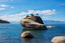 Late Morning at Bonsai Rock Lake Tahoe