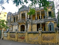 Late nineteenth century royal villa in Phnom Penh Cambodia
