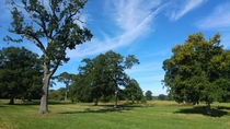 Late Summer in the English countryside - near Reading Berkshire