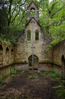 Late th century Church in West Sussex UK