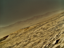 Latest photo of Mars from NASAs Curiosity Rover