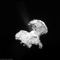 Latest Rosetta NavCam images reveal jets on Churyumov-Gerasimenko comet