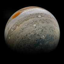 Latest view of Jupiter from NASAs Juno probe