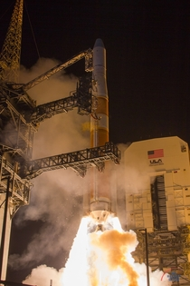 Launch of AFSPC- aboard a Delta IV Medium rocket Photo by Michael Seeley  We Report Space