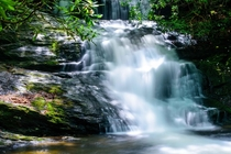Laurel Falls Nantahala National Forest Western North Carolina USA
