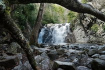 Laurel Fork Falls Cherokee National Forest TN