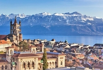 Lausanne Switzerland - the smallest city in the world to have a metro system