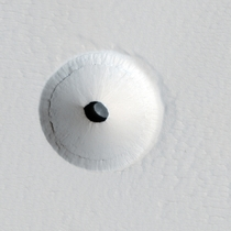 Lava tube skylight on Mars