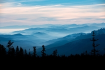 Layers on layers on layers Shasta-Trinity National Forest CA  instagram kevinapereira
