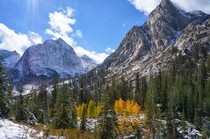 Le Conte Canyon - Eastern Sierras California -First Snow