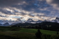 Le Grand-Bornand French alps
