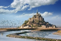 Le Mont-Saint-Michel Normandie France