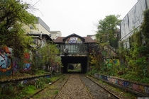 Le Petite Ceinture an abandoned railway line circling the city of Paris The Petite Ceinture railway circled through the city of Paris serving urban travelers from  to  before being abandoned