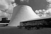 Le Volcan by Oscar Niemeyer Le Havre France
