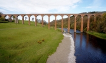 Leaderfoot Viaduct Scottish Borders