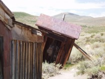 Leaning structure of Bodie CA