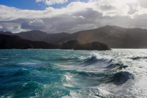 Leaving Picton in the Cook Strait New Zealand x OC