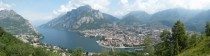Lecco on Lake Como Italy