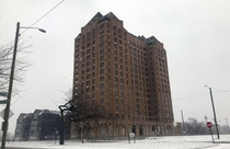 Lee Plaza Hotel Detroit Completely abandoned