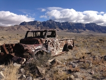 Left behind in Death Canyon near Delta UT