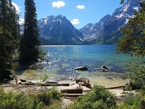Leigh Lake - Backcountry Grand Teton NP Wyoming