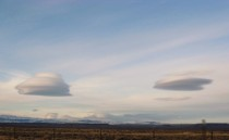 Lenticular Clouds in Western Wyoming