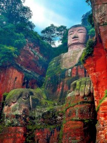 Leshan Giant Buddha Mount Emei China