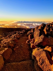 Less common view Top of Haleakala  Maui