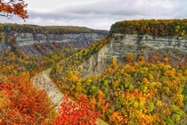 Letchworth State Park in the fall - Castile NY -