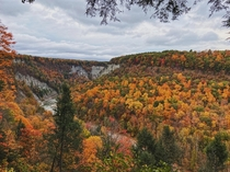 Letchworth State Park in Upstate New York