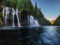Lewis River Falls in the Gifford Pinchot National Forest OC