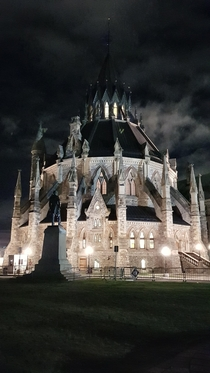 Library of Parliament Ottawa Designed by Thomas Fuller amp Chilion Jones -