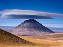 Licancabur Volcano located on the border between Chile and Bolivia photo by Hugo Machado