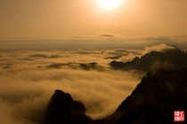 Life above the cloud of Huangshan in the sunset evening China has  great mountain Ti Hu Hng Hng amp Sng that you need to visit before you died But if you been to Huangshan the  great mountain is not require anymore