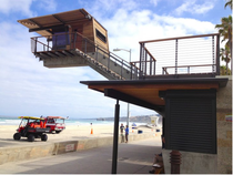 Lifeguard Station in La Jolla CA RNT Architects with Hector M Perez