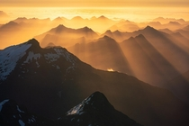 Light and layers Fiordland New Zealand OC x williampatino_photography