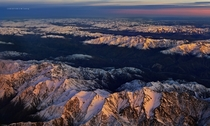 Light from Above - New Zealands beautiful Southern Alps  photo by Christian Lim