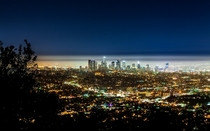 Light pollution in Los Angeles