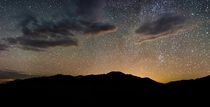 Light Pollution Over the Sangre de Cristo - Great Sand Dunes National Park Colorado