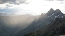 Light Pouring Into the Valley - Valhalla Provincial Park