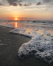 Light Roast Extra Foam sunrise on Hilton Head Island SC