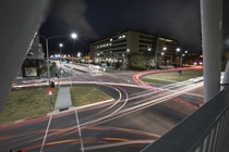 Light trails in Canberra Australia