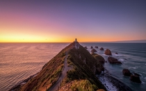 Lighthouse of Nugget Point New Zealand
