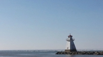 Lighthouse overlooking Lake Huron