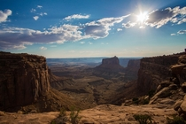 Like being on set for an old Western movie Canyonlands National Park Utah
